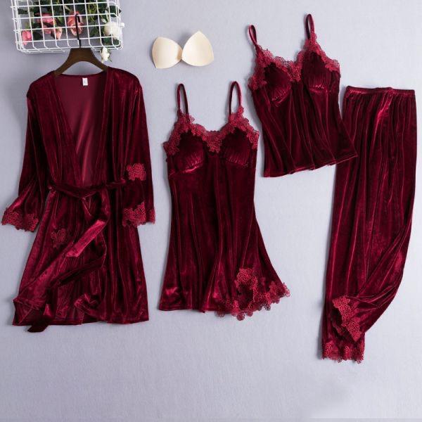 Pijama Catifea (3)